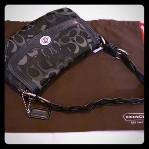 Coach Black Logo small Shoulder bag